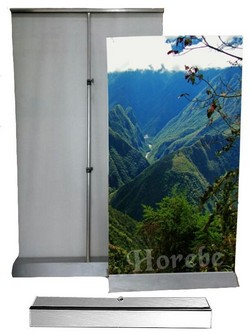 Porta banner roll up