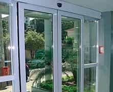 Porta de vidro de correr automática preço