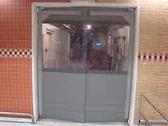 porta sanfonada de acrílico