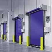 porta industrial vertical seccional